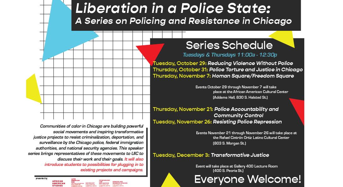 series schedule flyer